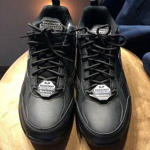 Women's Slip Resistant Sketchers Shoes size 9.5